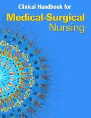 Cover of: Medical Surgical Nursing Clinical Manual (4th Edition) (Medical Surgical Nursing) | Priscilla LeMone