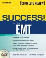 Cover of: SUCCESS! for the EMT-Basic (2nd Edition) (Success Across the Boards) by Joseph J. Mistovich