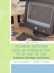 Cover of: Technical Sketching with an Introduction to AutoCAD | Dale H. Besterfield
