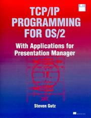 Cover of: TCP/IP Programming for OS/2 by Steven J. Gutz