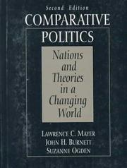 Cover of: Comparative politics | Lawrence C. Mayer