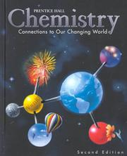 Cover of: Chemistry | H. Eugene Lemay