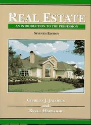 Cover of: Real Estate by Charles J. Jacobus