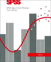Cover of: SPSS Base 7.0 for Windows User's Guide | Spss Inc