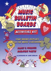 Cover of: Music bulletin boards activities kit by Nancy E. Forquer
