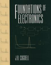 Cover of: Foundations of electronics by J. R. Cogdell