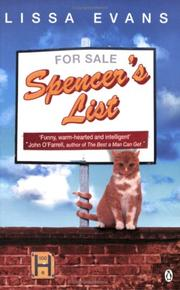 Cover of: Spencer's List | Lissa Evans