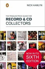 Cover of: The Penguin Price Guide for Record and CD Collectors | Nick Hamlyn