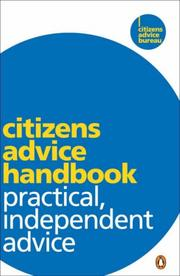 Cover of: Citizens Advice Handbook | Citizens Advice Bureau