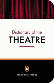 Cover of: The Penguin Dictionary of the Theatre | Jonathan Law