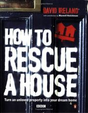 Cover of: How to Rescue a House | David Ireland