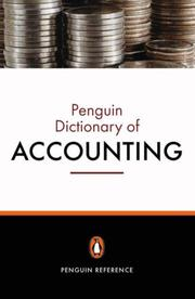 Cover of: Penguin Dictionary of Accounting | Christopher Nobes