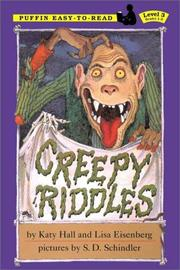 Cover of: Creepy Riddles | Katy Hall
