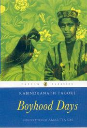 Cover of: My boyhood days by Rabindranath Tagore