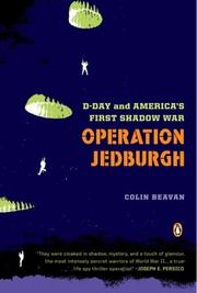 Cover of: Operation Jedburgh | COLIN BEAVAN