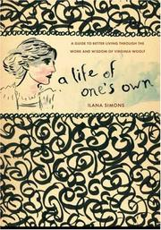 Cover of: A Life of One's Own | Ilana Simons