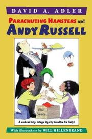 Cover of: Parachuting hamsters and Andy Russell by David A. Adler