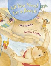 Cover of: All you need for a beach | Alice Schertle