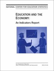 Cover of: Education and the economy | Paul T. Decker