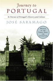 Cover of: Journey to Portugal by José Saramago