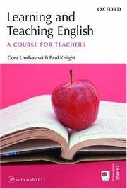 Cover of: Learning And Teaching English | Cora Lindsay