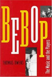 Cover of: Bebop by Thomas Owens