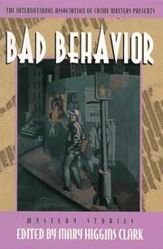 Cover of: Bad Behavior | Mary Higgins Clark, Thomas Larry Adcock