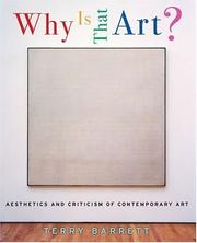Cover of: Why Is That Art? | Terry Barrett