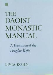 Cover of: The Daoist Monastic Manual by Livia Kohn