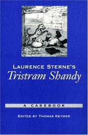 Cover of: Laurence Sterne's Tristram Shandy | Thomas Keymer