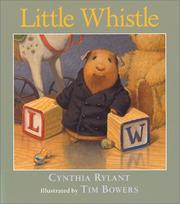 Cover of: Little Whistle | Cynthia Rylant