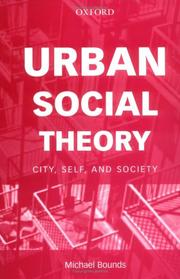 Cover of: Urban Social Theory | Michael Bounds