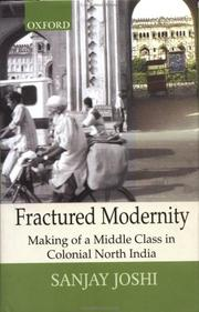 Cover of: Fractured Modernity | Sanjay Joshi