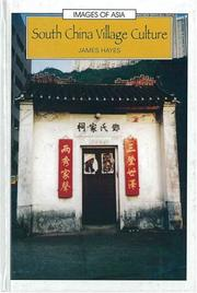 Cover of: South China village culture | James Hayes