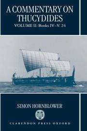 Cover of: A Commentary on Thucydides: Volume II | Simon Hornblower
