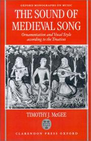 Cover of: The sound of medieval song by Timothy J. McGee