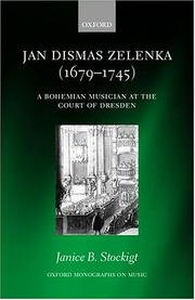 Cover of: Jan Dismas Zelenka | Janice B. Stockigt