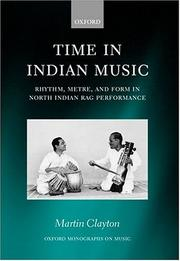 Cover of: Time in Indian music | Clayton, Martin.