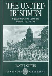 Cover of: The United Irishmen by Nancy J. Curtin