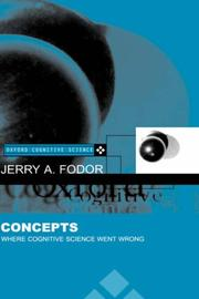 Cover of: Concepts | Jerry A. Fodor