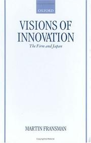 Cover of: Visions of Innovation | Martin Fransman