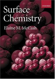Cover of: Surface chemistry | Elaine M. McCash