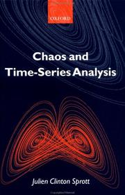 Cover of: Chaos and time-series analysis by Julien C. Sprott