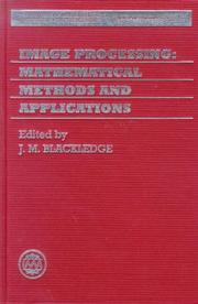 Cover of: Image processing by IMA Conference on Image Processing: Mathematical Methods and Applications (1st 1994 Cranfield University)