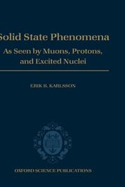 Cover of: Solid state phenomena by E. Karlsson
