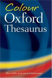 Cover of: Color Oxford Thesaurus | Maurice Waite