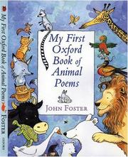 Cover of: Oxford First Book of Animals (Oxford First Books) by Barbara Taylor