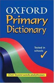 Cover of: Oxford Primary Dictionary | Robert Allen