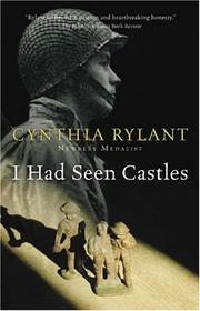 Cover of: I had seen castles | Cynthia Rylant