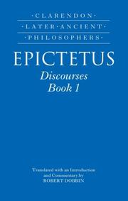 Cover of: Epictetus | Robert F. Dobbin
